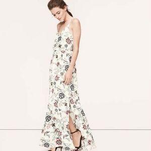 LOFT Wallpaper Floral Maxi Dress - 8 Petite
